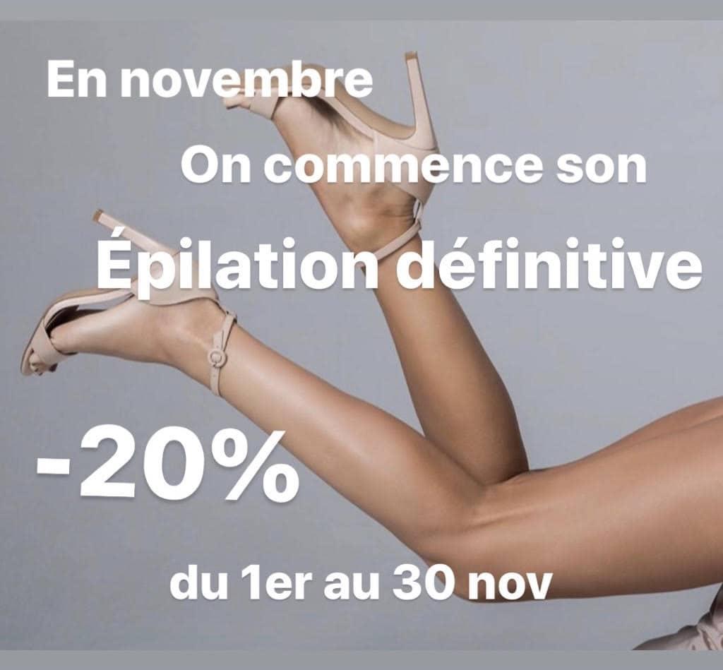 Promotion epilation laser Divonne les bain